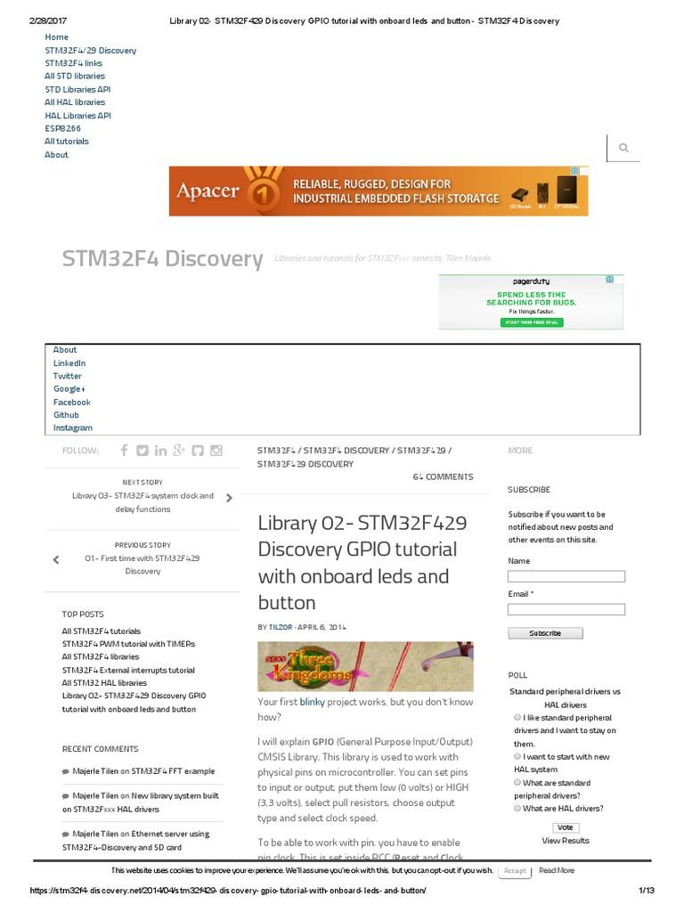 GPIO | Electrical Engineering | Electronics
