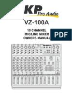 Mixer Vz100a