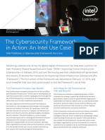 The Cybersecurity Framework in Action an Intel Use Case Brief