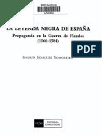 Ingrid Schulze-Leyenda Negra de España-Indice