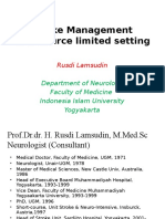 PROF RUSDI Stroke Management in Resource Limited Setting1