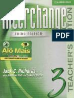 Interchange 3 Teacher Book