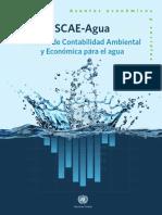 Sistema de Contabilidad Ambiental Y Economica Del Agua