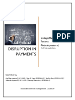 Disruption in Payments