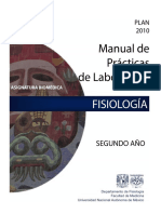 Laboratorio de Fisiologia 7 Feb 17