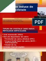 Artrite Induse de Cristale