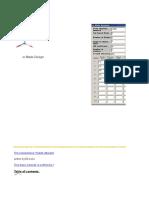 Bladedesign Calc