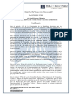 RO# 952- Reforma Reglamento Para Control Ventas a Crédito y Emisión Tarjetas de Circulación Por Compañías Sujetas a Supervisión de SCVS (24 Feb. 2017)