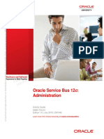 Oracle Service Bus 12c - Administration Ed 1 (Activity Guide)