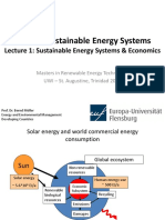 1 Energy Systems & Economics