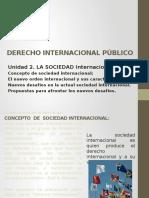 Derecho Internacional Publico. Clase 2
