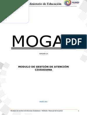 Manual De Atencion Ciudadana Mogac Point And Click