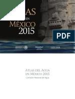 Atlas del agua en México 2015