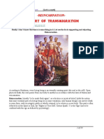 Reincarnation the Art of Transmigration