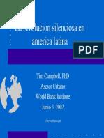 Campbel (2002) La Revolución Silenciosa en AL, Descentralización