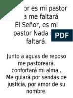 Él Señor Es Mi Pastor - Danilo Montero