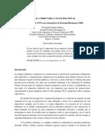 Estrada Gallego - Política Tributaria y Economía Fiscal