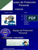 Equipo de Protección Personal de Trabajo