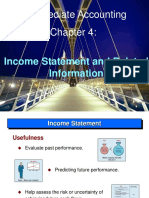 6.Income Statement and Related Information