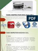 Tank Inspection Bolivia