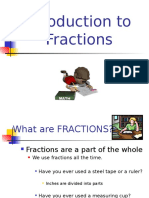 intoduction to fractions