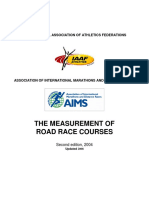 Measurement of Road Racecourses