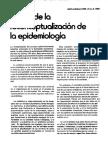 Reconcepto de Epidemiologia