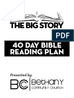 40 Day Reading Plan