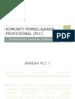 Komuniti Pembeajaran Profesional (Plc)