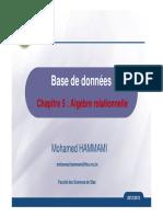 C5-Algèbre Relationnelle