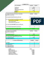 ESAN - Práctica Dirigida 1 - Costeo Real - Solución