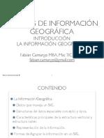 3. La Información Geográfica 2016