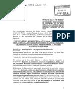 Proyecto de ley de Yonhy Lescano contra el Currículo Educativo