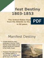 manifest destiny ppt  1