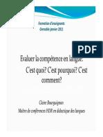 Bourguignon Claire Eval Comp
