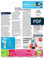 Pharmacy Daily for Tue 07 Mar 2017 - More Grattan feedback, Sigma launches in-store drug database, Flu vaccine supplies, Arrow, Guild Update and much more