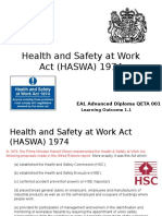 2 W & L - Health and Safety at Work Act HASAW 1974 A