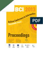 BCI2013 Front Matter