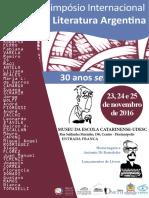 2° Simpósio de Literatura Argentina - MUSEU - Programa de Divulgação-1