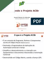 Projeto ACBr - FDD