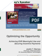 Optimizing the EHR Opportunity by Greenway