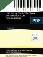 Uso de La Musicoterapia en Usuarios Con Discapacidad