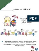 Matrimonio en El Perú