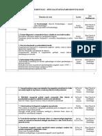 REZIDENTIAT Paro tematica cursuri.doc
