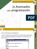 Topicos Avanzados de Programacion Unidad 1