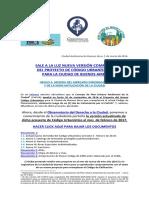 2017 - 03 - Proyecto de Código Urbanístico - Elaborado Por El GCBA - 8va Versión - Febrero 2017 - Más Anexo I, II, III Y IV