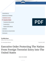 Executive Order Protecting The Nation From Foreign Terrorist Entry Into The United States | whitehou