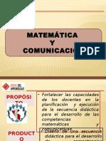 PPT MATEMATICA_COMUNICACION