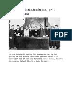 Antología Generacion Del 27