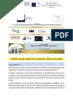 Appel à Communication CIREG'16-Français (1)